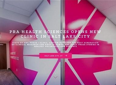 科技医疗网站设计赏析合集