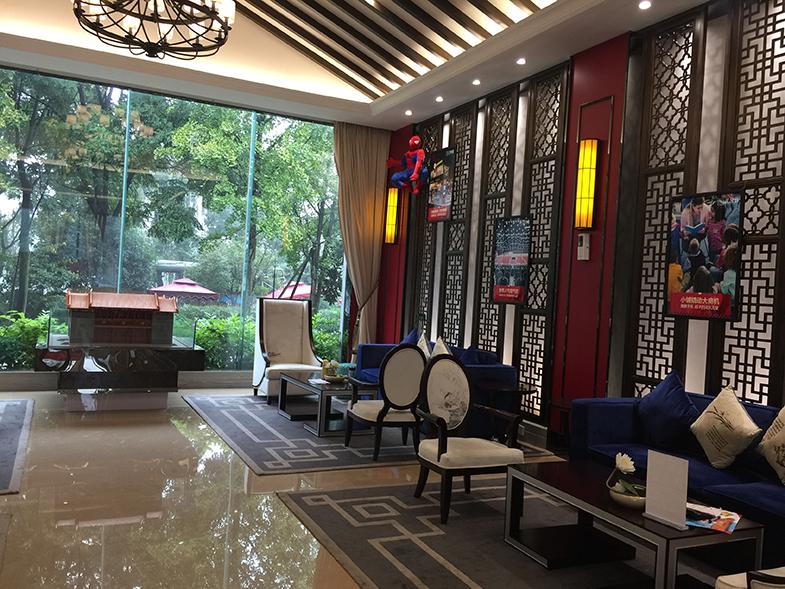 北京天府街售楼部设计-成都售楼部软装设计公司