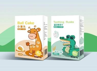 儿童零食 包装设计