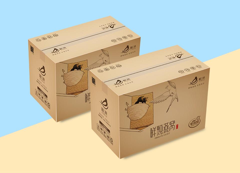 正天行随口燕鲜炖燕窝创意包装设计
