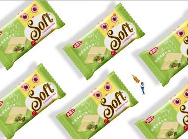 金富士饼干包装设计方案