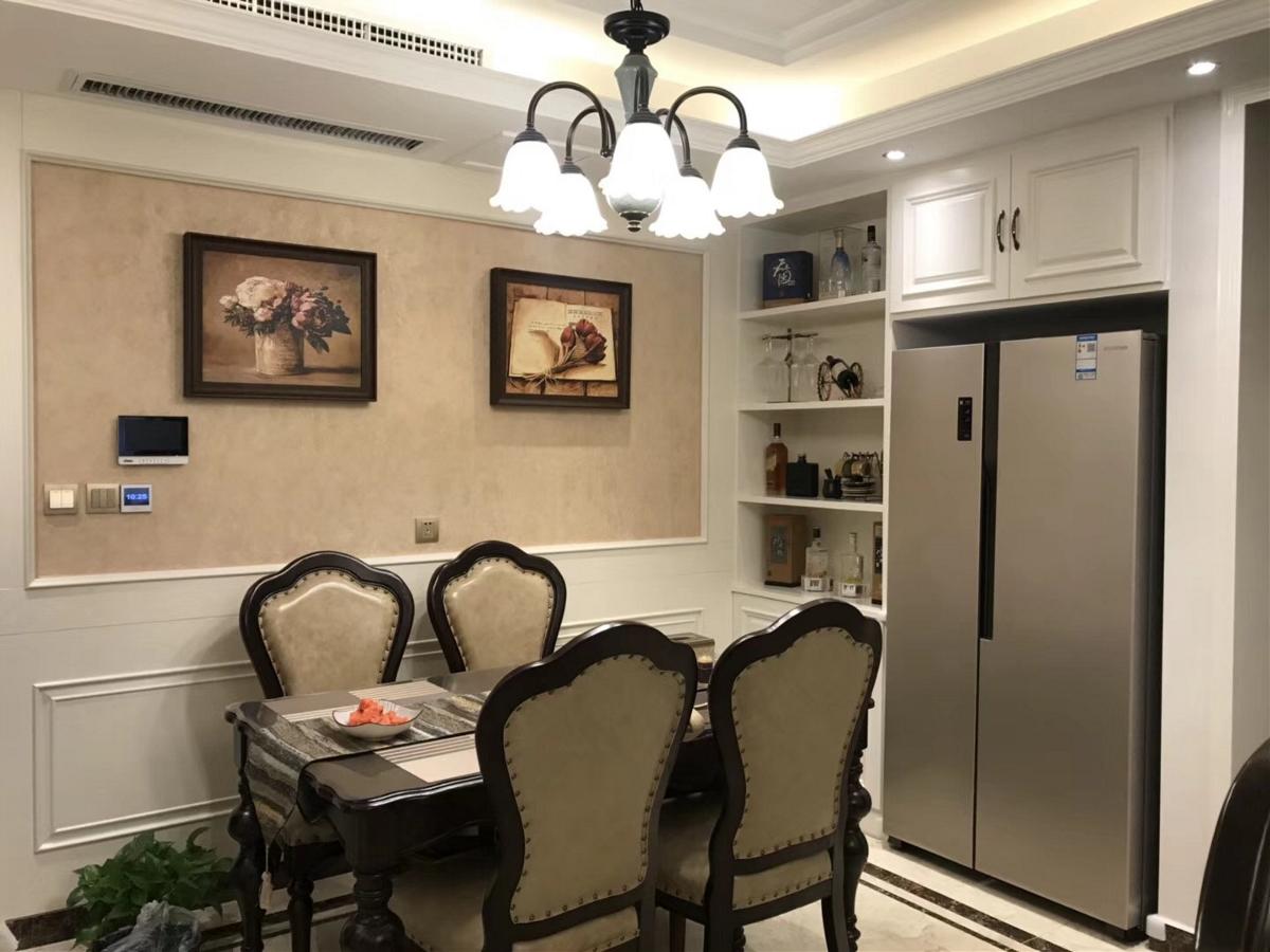 公园道一号三室两厅129平欧式风格装修实景图欣赏