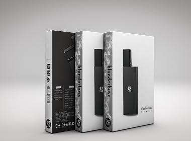 Blunderbuss • 火器电子烟——扁烟包装设计
