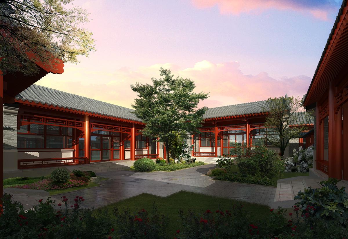 成都禅修寺庙规划设计/成都古建筑整体规划/成都仿古建筑规划