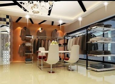 成都服装店装修设计公司丨筑格装饰