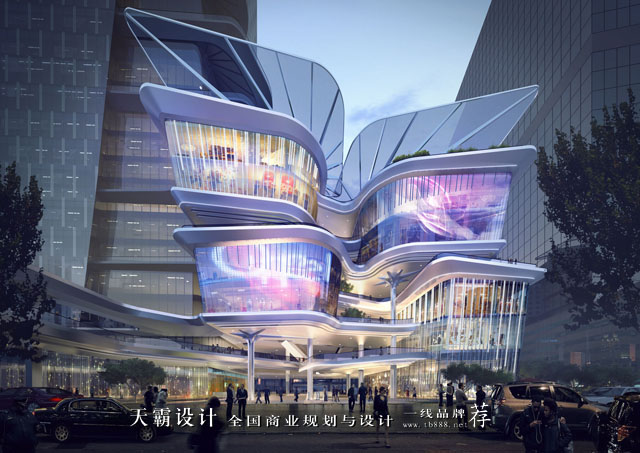 創意城市綜合體設計效果圖帶來美的享受