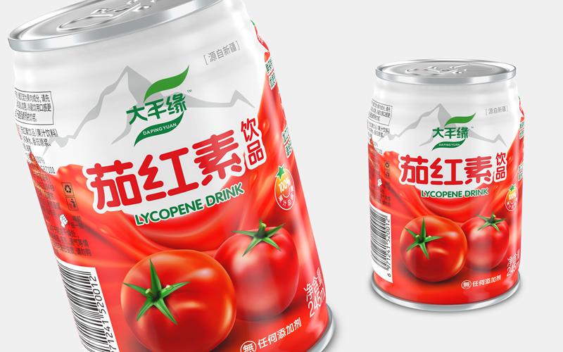 番茄汁饮料包装设计