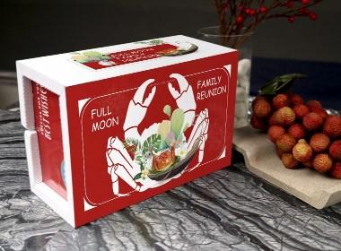 大闸蟹海鲜箱设计