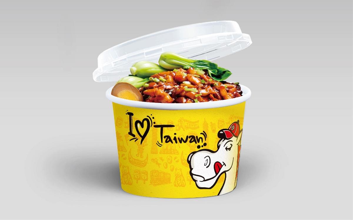 小马哥金牌卤肉饭品牌设计|美御品牌策划设计