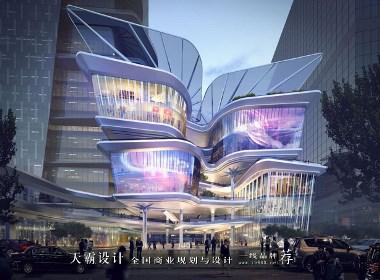 创意城市综合体设计效果图带来美的享受