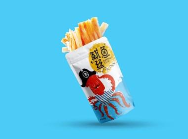 April作品「鱿鱼丝 」包装设计——吃几根,随便你