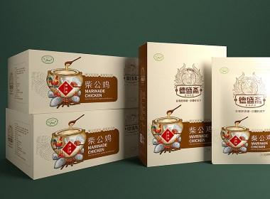 德盛斋扒鸡—徐桂亮品牌设计