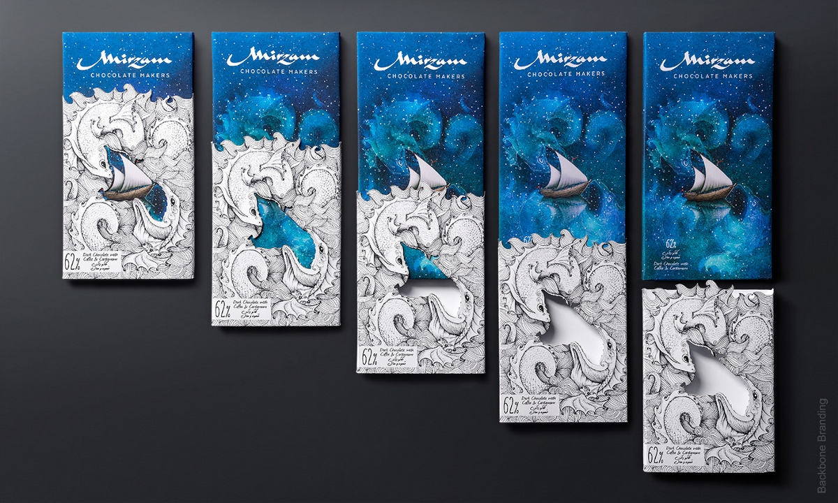&梦幻&Mirzam巧克力包装设计