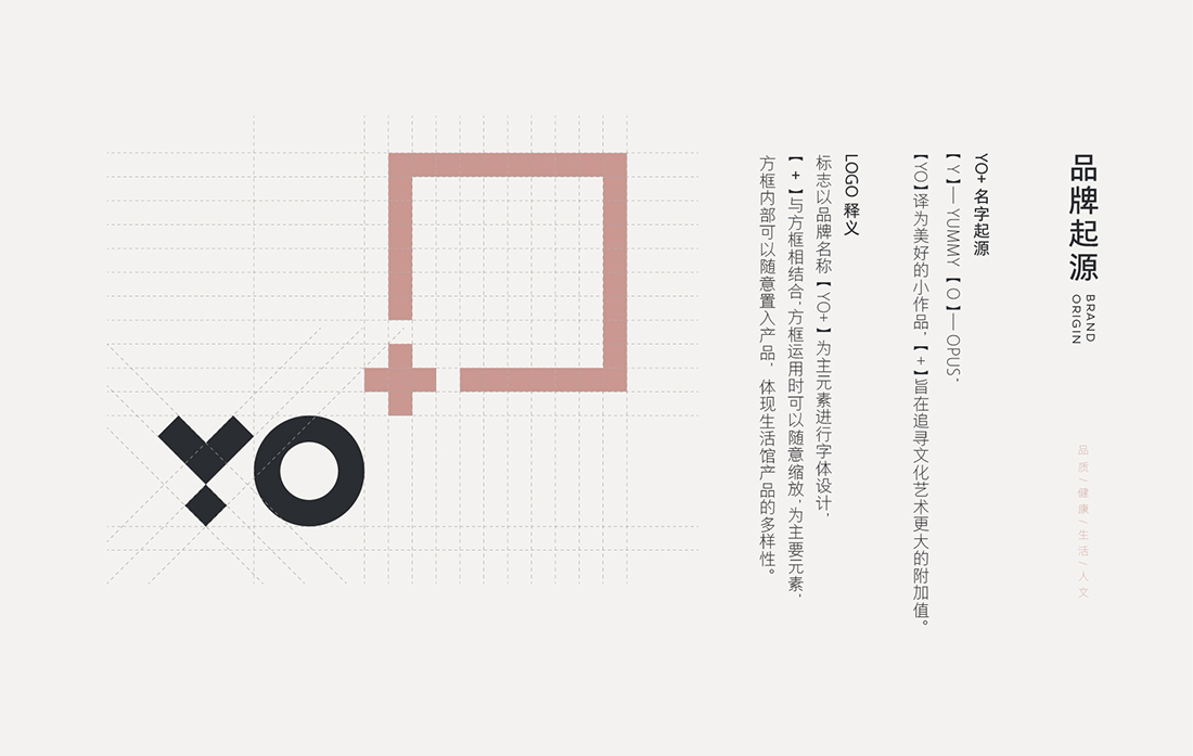 【YO+跨境商品生活馆】母婴产品logo、vi形象设计