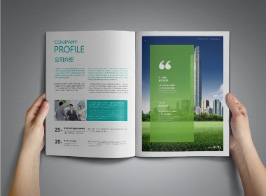 春风化雨®作品-空气环境净化宣传册设计