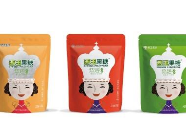 晨狮原创设计  丨  西王果糖悠活系列包装设计