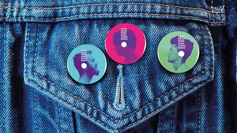個人音頻節目Loudhead品牌形象設計