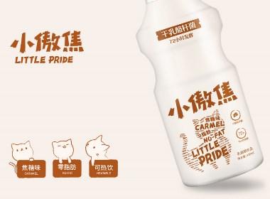 小傲焦乳酸菌饮料包装设计by-毒柚