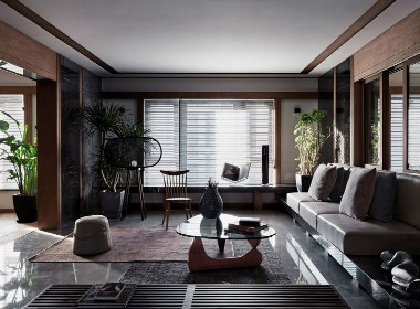 160㎡ 现代简约住宅--欧模网设计圈