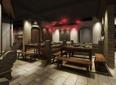 园林式火锅店设计——沐野设计