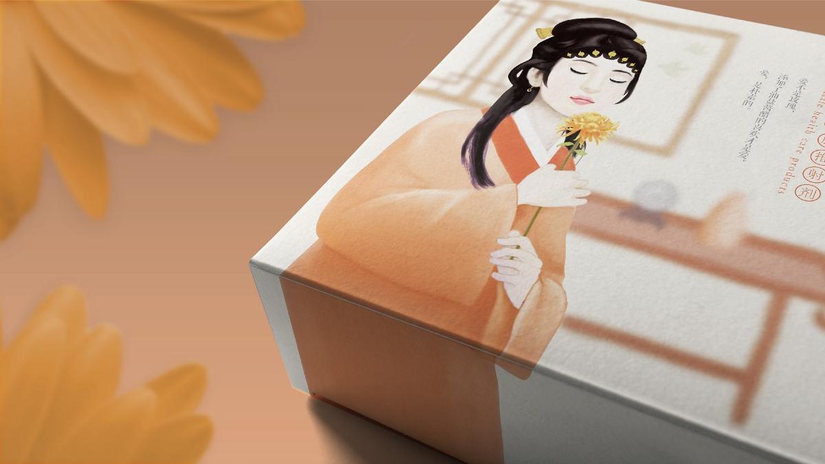 瑟瑟娘子「女性用品」包装设计
