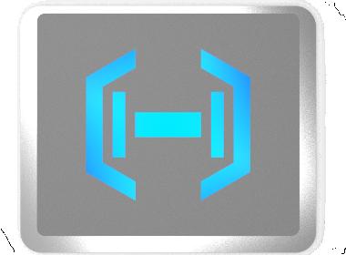 一款哑铃产品的logo及铭牌设计