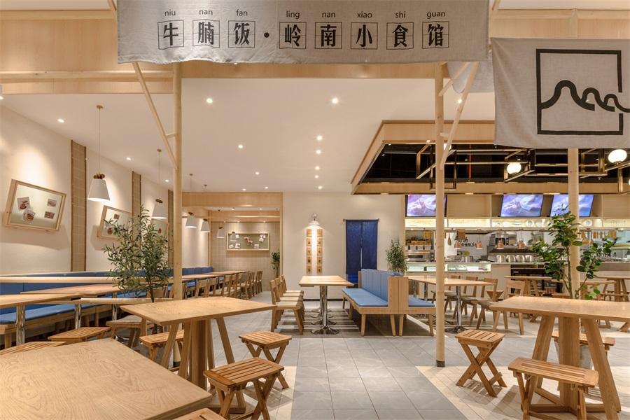餐饮设计-牛楠楠岭南小吃店,惠州超强人气王