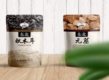 晨狮原创设计  丨  合鲜菇天然食品包装设计