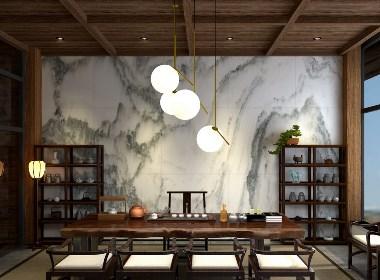 新中式茶居會所設計-前意識設計葉平作品
