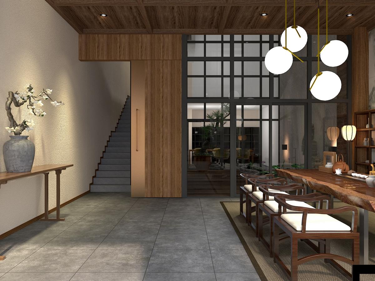 新中式茶居会所设计-前意识设计叶平作品