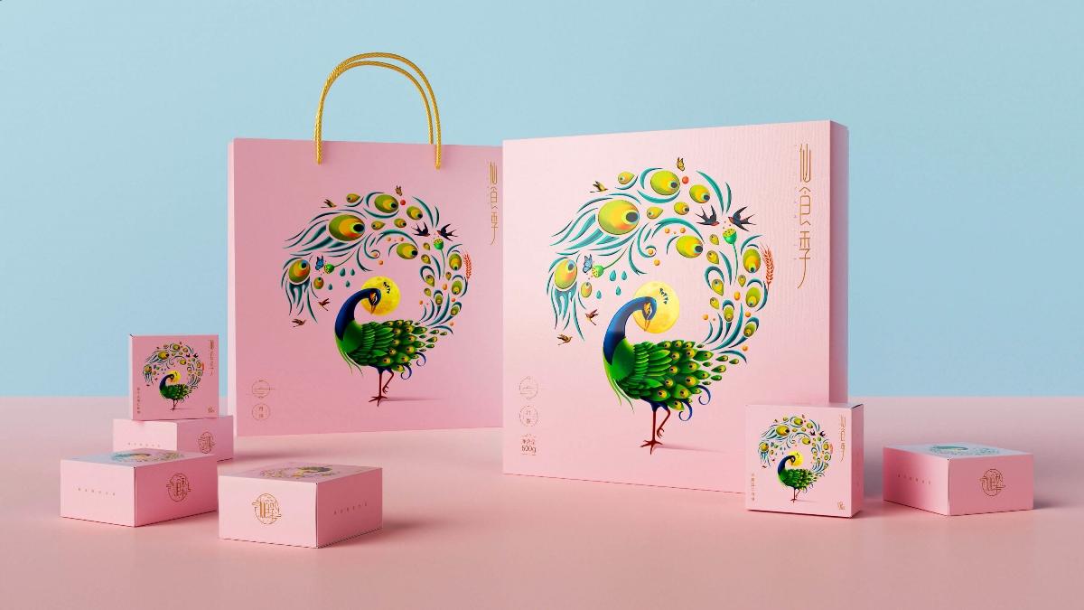 仙食季——月餅包裝設計