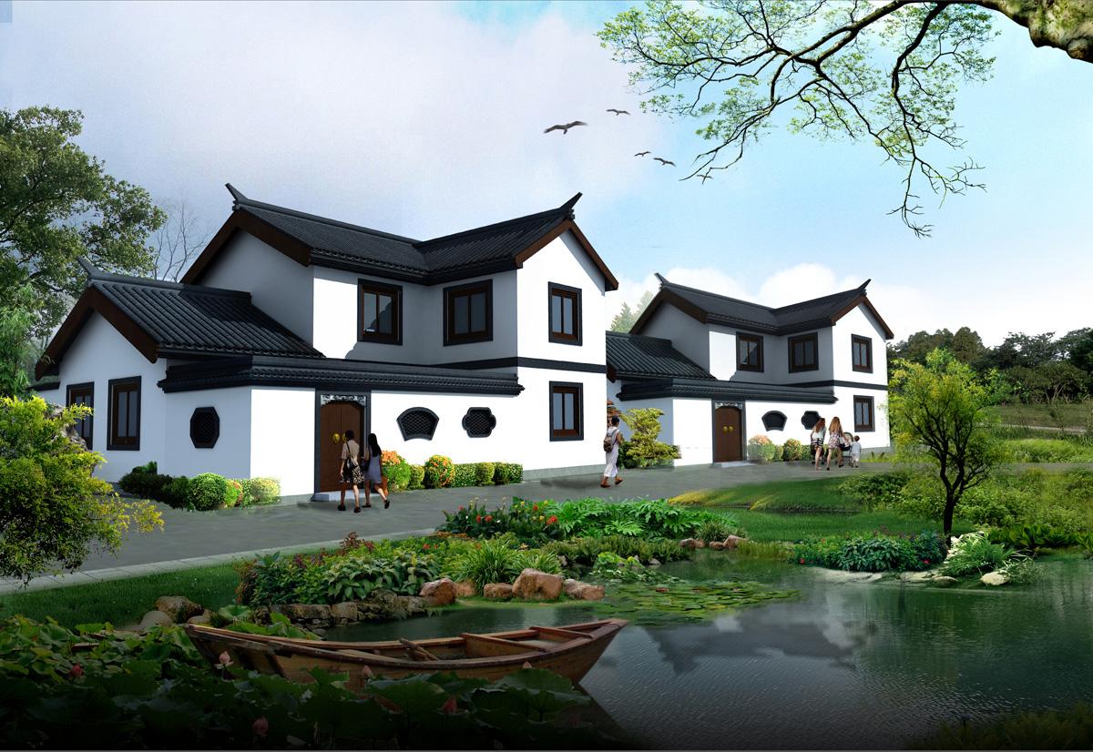 重庆古镇规划设计/重庆寺庙整体规划/重庆仿古建筑设计