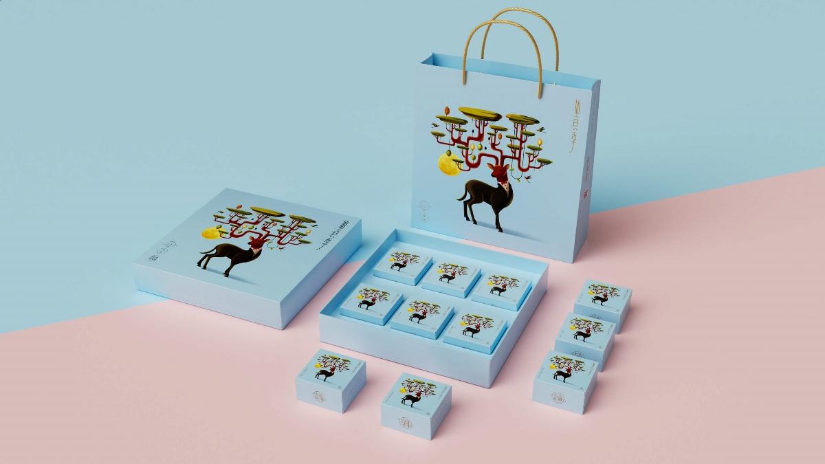 仙食季——月饼包装设计