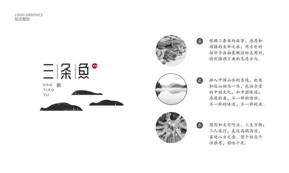 餐饮品牌设计  三条鱼