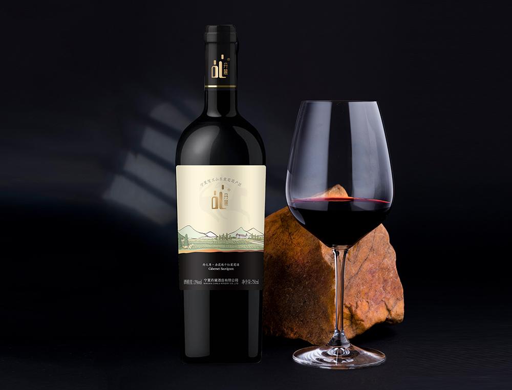 宁夏丹麓酒庄红酒系列产品包装开发