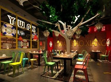 【港式餐厅】—成都餐厅装修/成都餐厅设计