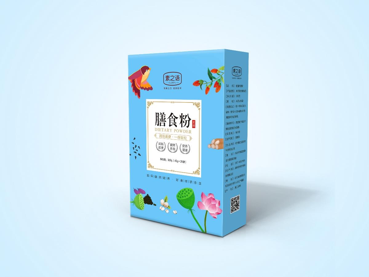 五谷杂粮代餐粉包装设计