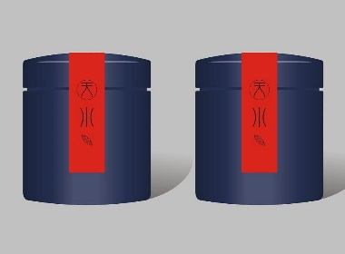 茶叶品牌包装--蓝系
