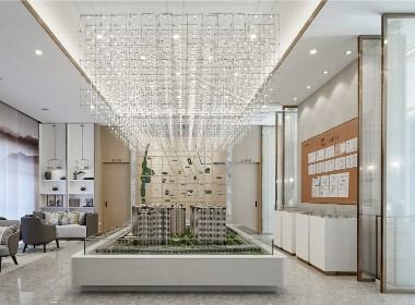 臻品空间设计(深圳):亚新·美好城邦售楼处
