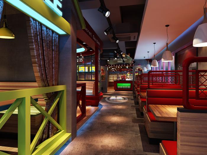 【凯西主题餐厅】—成都餐厅装修设计/成都主题餐厅装修设计
