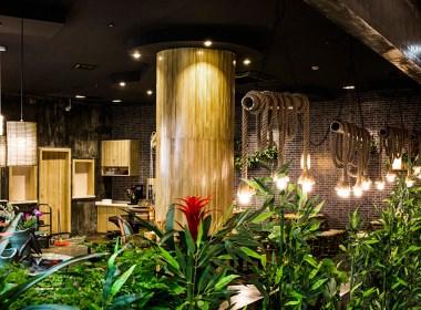 【源品小面】—成都餐厅装修设计/成都面馆装修设计