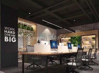 上海现代风格办公室装修设计重点元素
