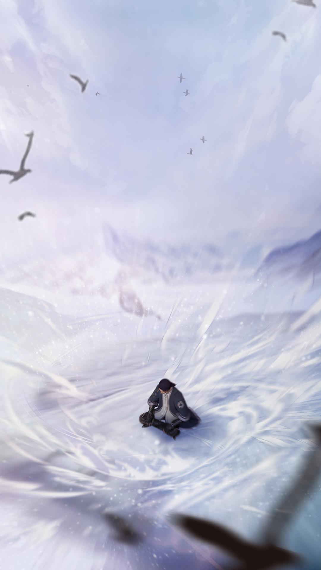 堕玄师壁纸丨静坐天地间,玄入淬体境
