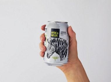 晨狮设计观点  丨  复古野生动物啤酒包装设计