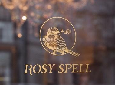 珠宝品牌Logo设计-Rosy spell