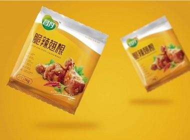 昌月食品标志及包装设计