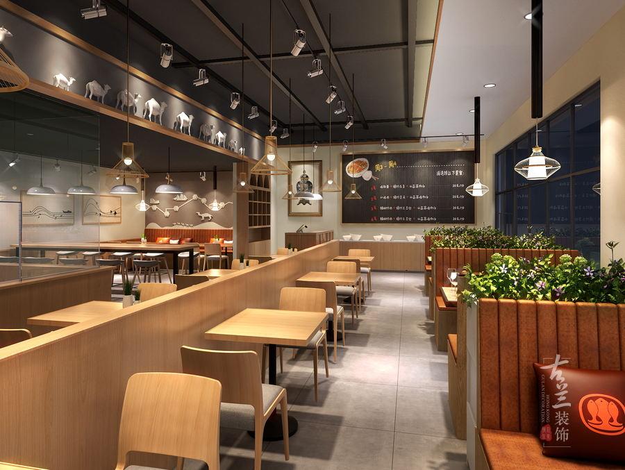 咸阳牛肉面馆设计-成都专业面馆(快餐厅)装修公司