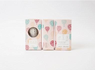"""晨狮设计观点  丨  """"热气球""""茶具包装设计"""