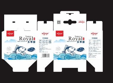 一款即食,海产品,包装设计