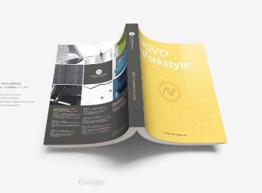 NOVO时尚家具画册设计,产品手册,宣传册设计